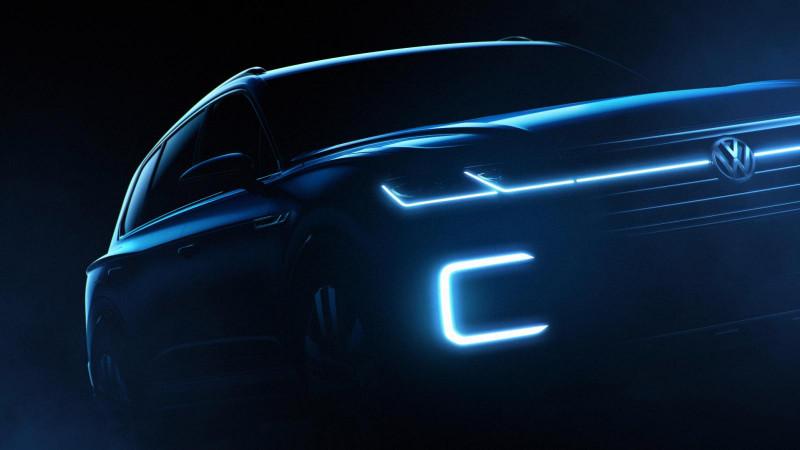 Volkswagen teases new concept SUV for Beijing