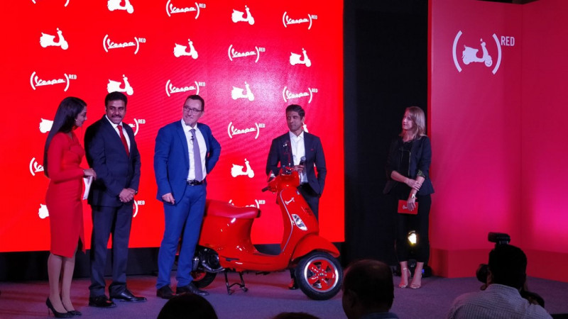 Piaggio launches Vespa RED in India at Rs 87009