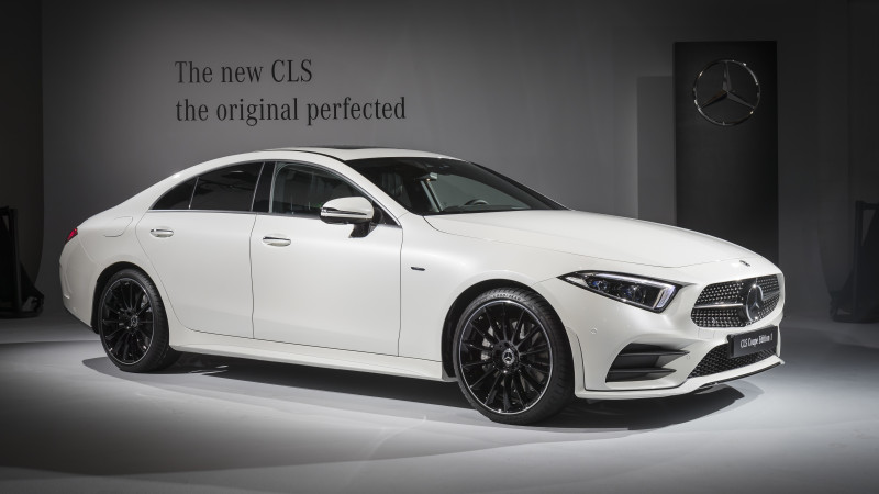 2018 Mercedes-Benz CLS revealed