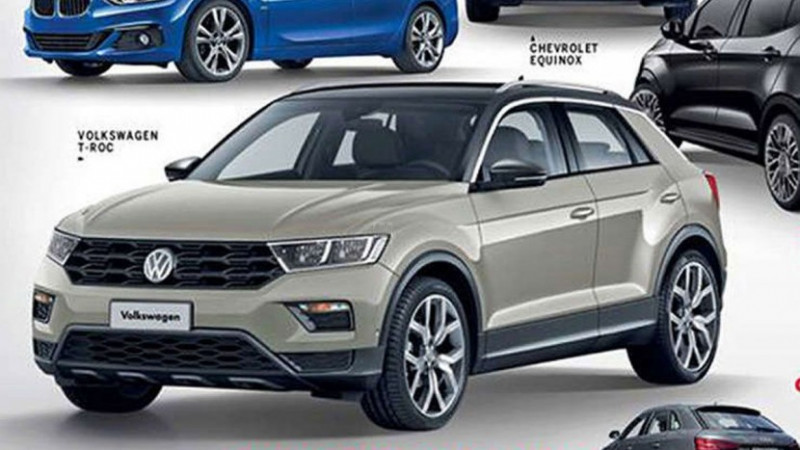 Production-spec Volkswagen T-Roc images leaked