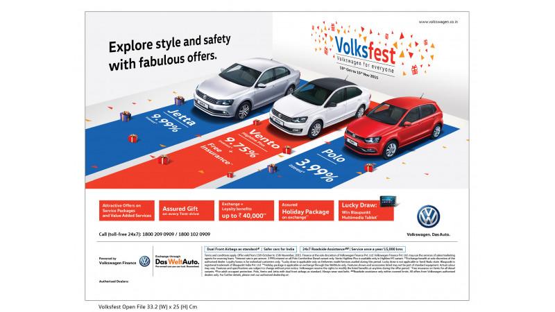 Volkswagen celebrates festive season with Volksfest 2015
