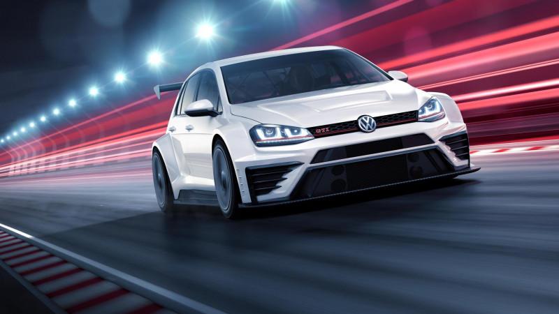 Volkswagen unveils Golf GTI TCR