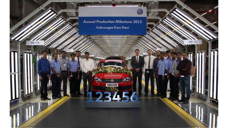 Volkswagen India reports highest production figures in 2015