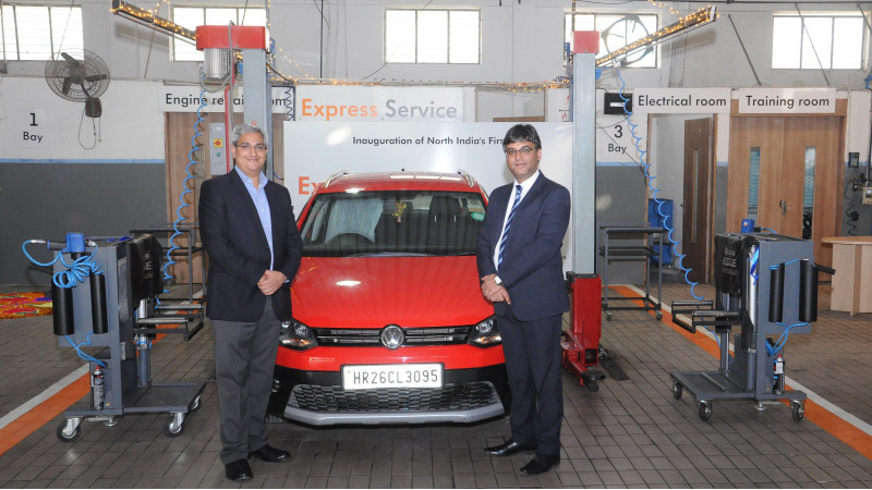 Volkswagen India starts second Express Service Facility in Gurgaon
