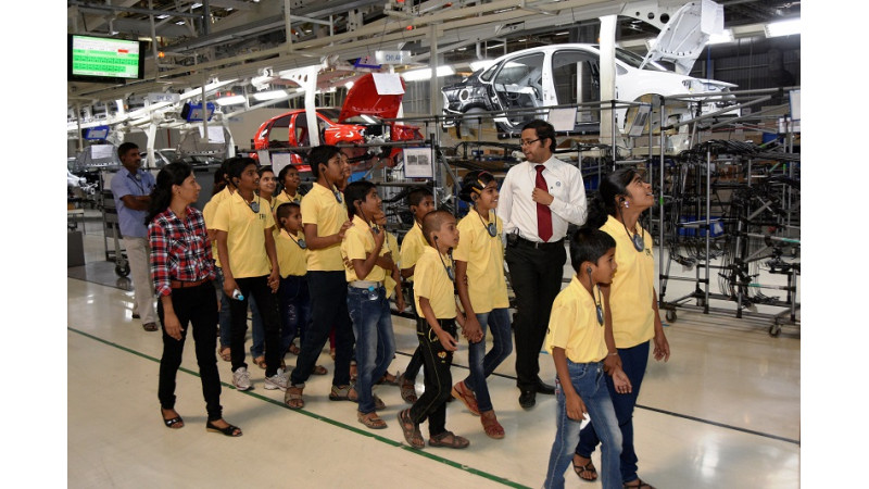 Volkswagen India has 50,000th visitor at its Pune facility