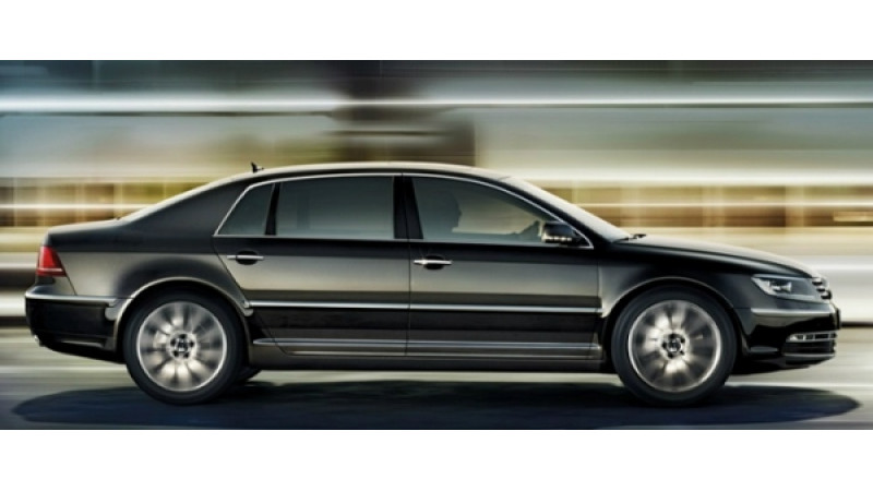 VW to phase out Phaeton after 14 year production run