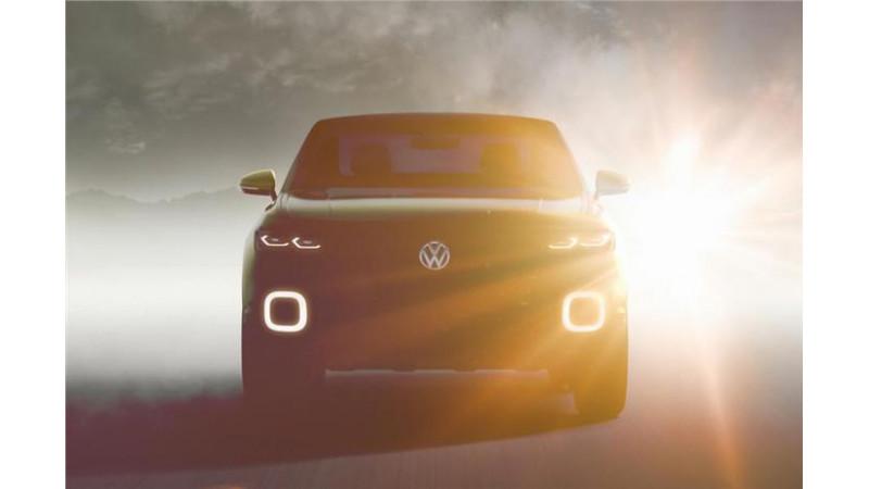 Volkswagen T-Cross concept SUV unveiled ahead of 2016 Geneva Motor Show