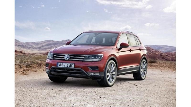 Volkswagen Tiguan showcased in Tokyo - India launch next year