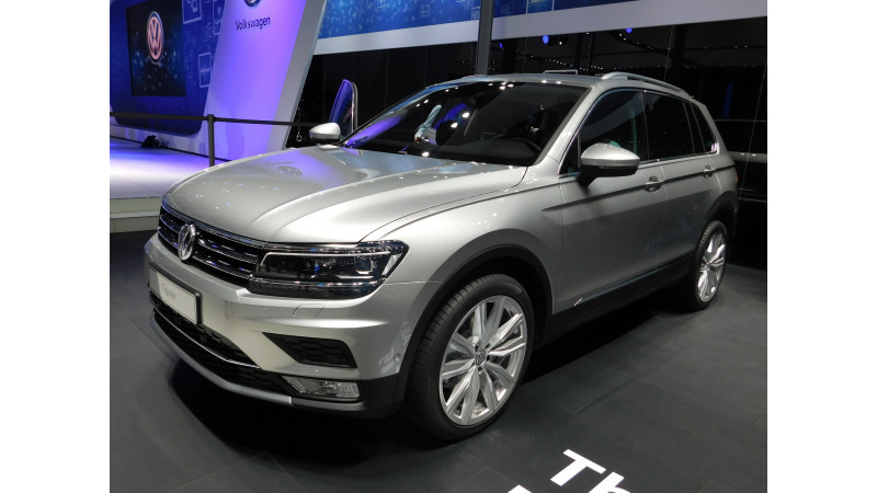 2016 Auto Expo: Volkswagen Tiguan revealed; To launch this fiscal