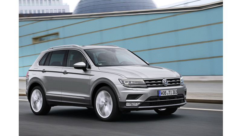 India-bound Volkswagen Tiguan crash tested by Euro NCAP; Gets 5-star rating