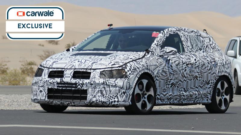 Volkswagen's next-gen Polo spied testing