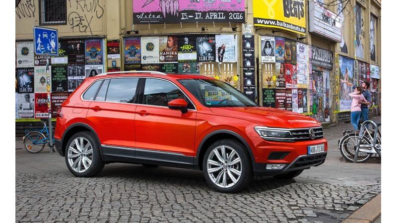 Volkswagen Tiguan India launch on May 24