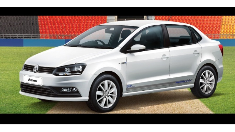 Volkswagen launches Cup Editions of Polo Vento and Ameo