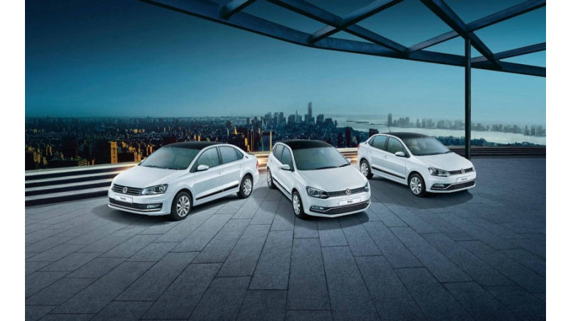 Volkswagen launches Crest Collection in Ameo, Vento and Polo