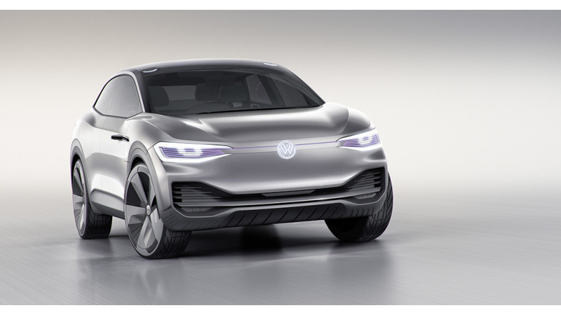 Volkswagen I.D. Crozz revealed at the 2017 Shanghai Motor Show