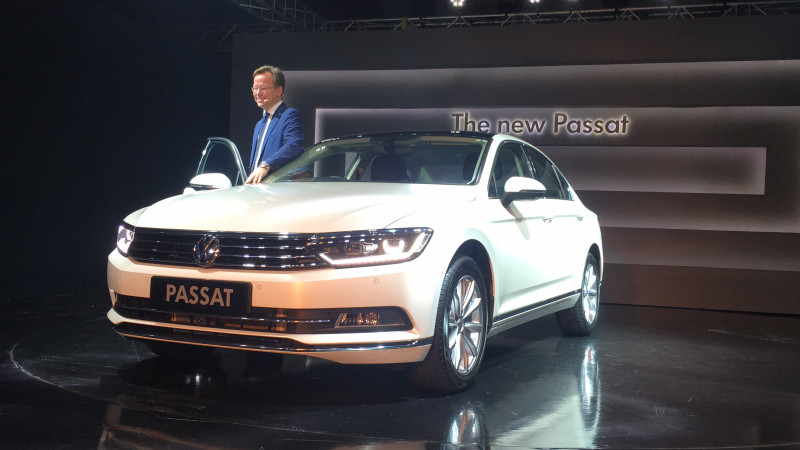 Volkswagen launches new Passat in India at Rs. 29.99 lakhs