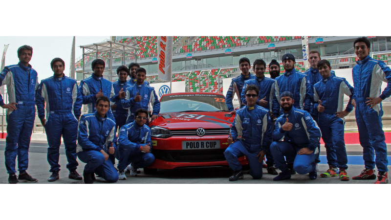 Pre-season tests for the Volkswagen Polo R Cup 2013 held at BIC
