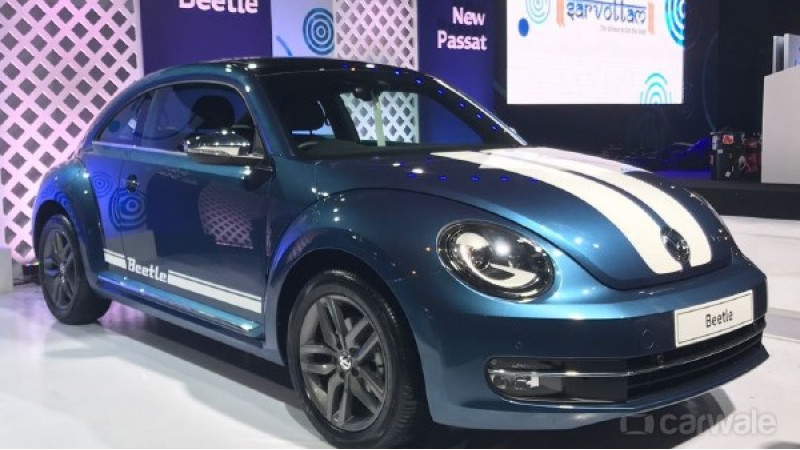VW Beetle might soon get a special edition in India