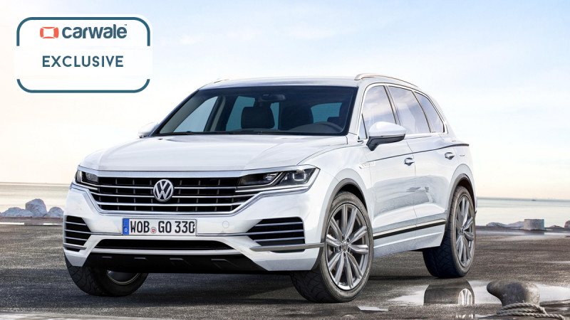 We render Volkswagen's next-generation Touareg