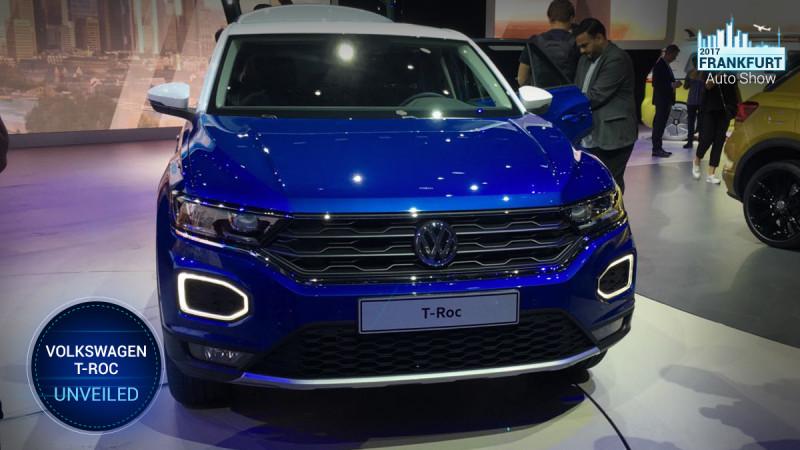 Frankfurt Auto Show 2017: Volkswagen unveils T-Roc SUV