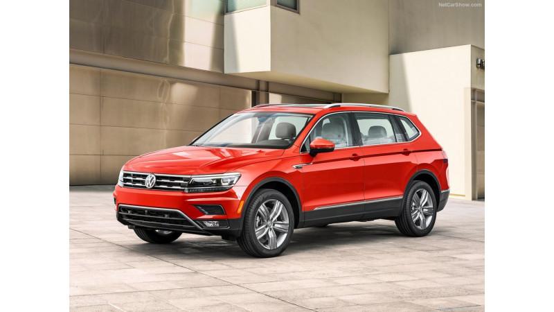 Volkswagen unveils long-wheelbase Tiguan at 2017 Detroit Motor Show