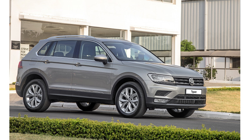 Volkswagen to launch the Tiguan in India tomorrow