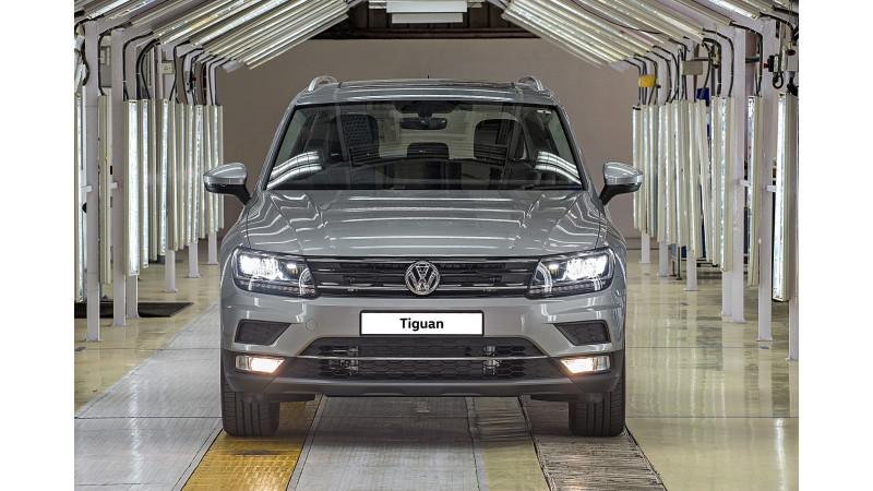 Volkswagen begins the production of Tiguan in India