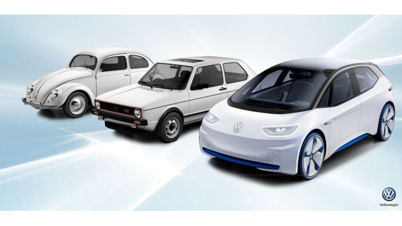 VW unveils I.D concept car at CES 2017
