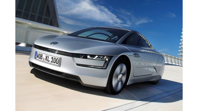 Volkswagen to unveil diesel-electric XL1 in Geneva on March 5, 2013