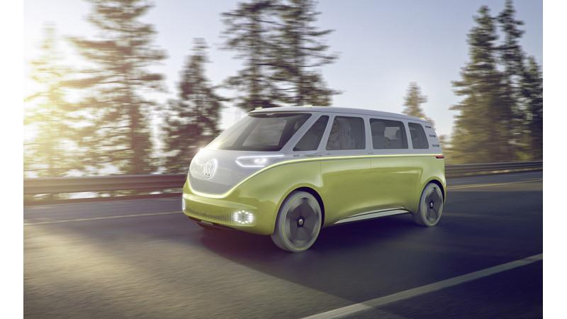 Volkswagen reveals second I.D. Concept at the Detroit Motor Show