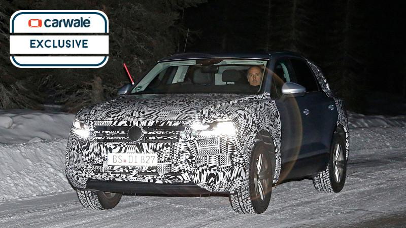 Volkswagen testing the next-gen Touareg