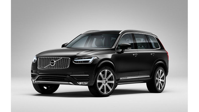 Volvo XC90 T8 Hybrid to be launched in India on September 14