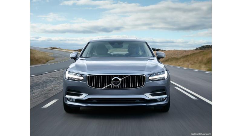 Volvo unveils its new luxury sedan S90