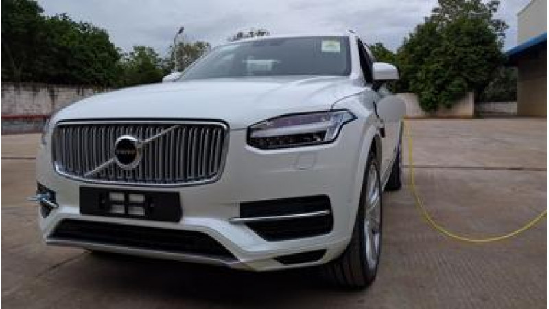 Volvo XC90 T8 Hybrid reaches Indian shores ahead of launch