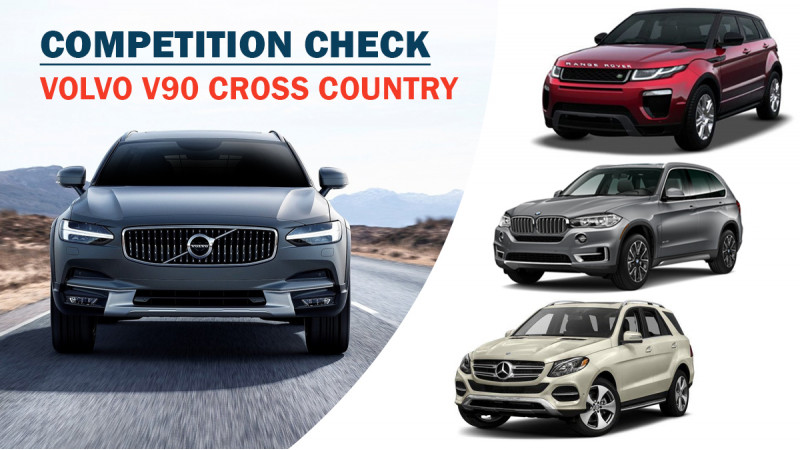 Competition check for Volvo V90 Cross Country