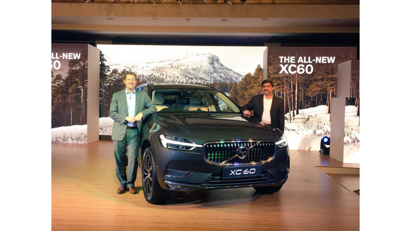 Volvo launches all-new XC60 in India at Rs 55.90 lakhs