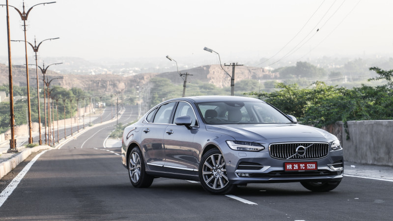 Full five-star rating by Euro NCAP for new Volvo S90 and V90