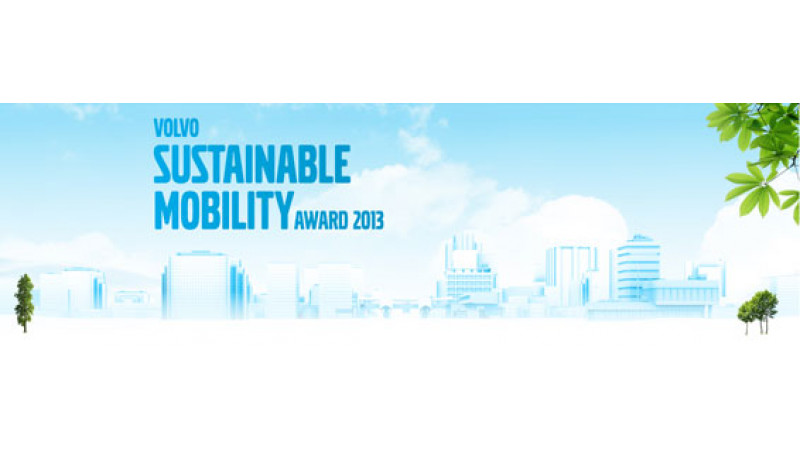 Volvo Sustainable Mobility Awards 2013
