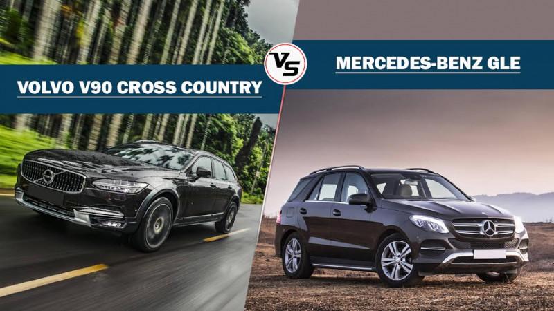 Volvo V90 Cross Country Vs Mercedes-Benz GLE 250d: Spec Comparison