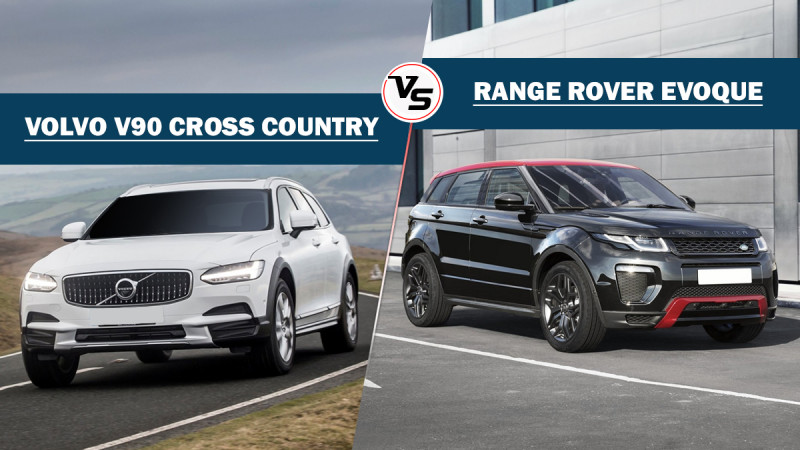 Spec comparo: Volvo V90 Cross Country Vs Range Rover Evoque