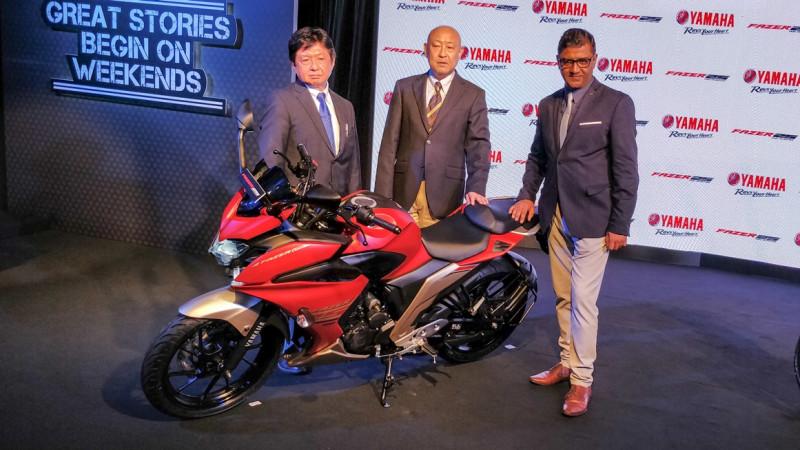Yamaha launches new Weekend tourer, faired Fazer 25
