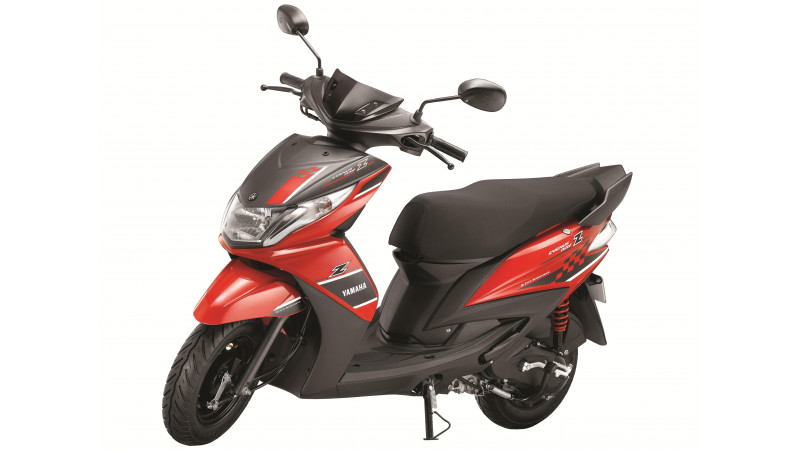 Yamaha Ray Z priced at Rs. 48,555 for India