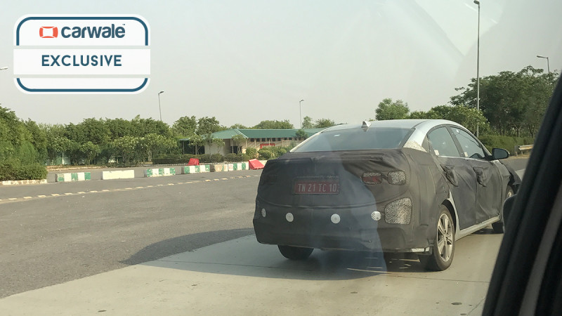 All-new Hyundai Verna spotted testing in India
