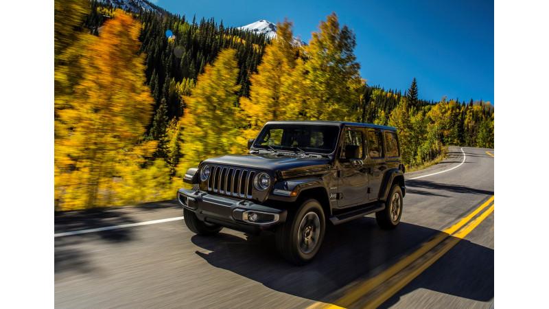 2018 Jeep Wrangler revealed globally