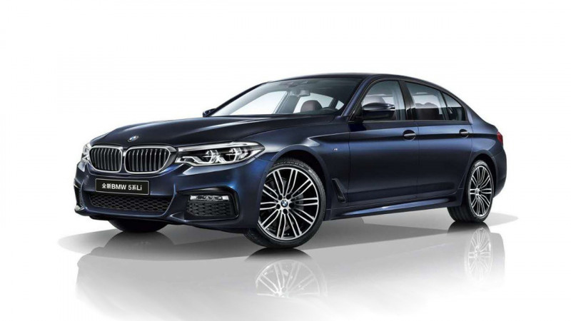 BMW 5 Series L revealed in China