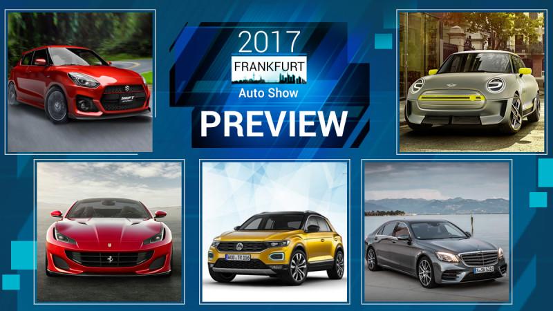 Preview: Frankfurt Motor Show 2017