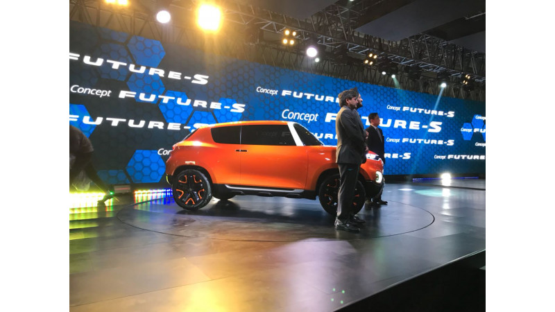 Maruti Suzuki premiers the Future S Concept