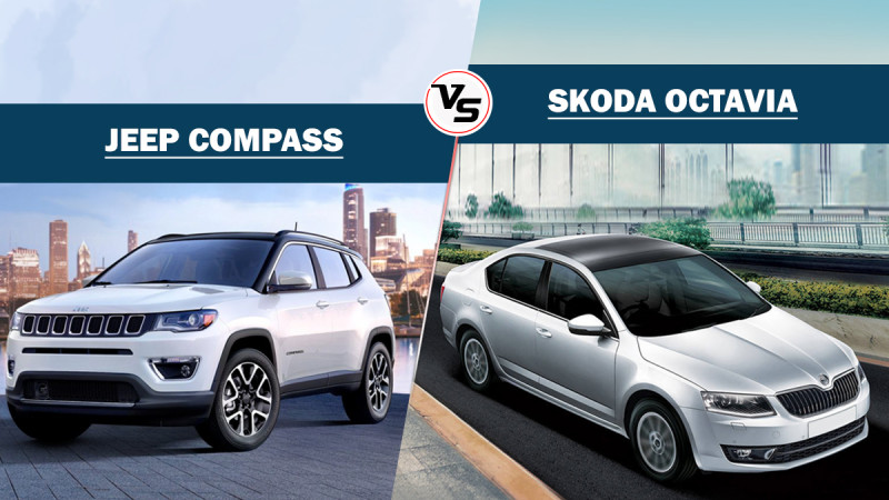 Spec Comparo: Jeep Compass vs Skoda Octavia