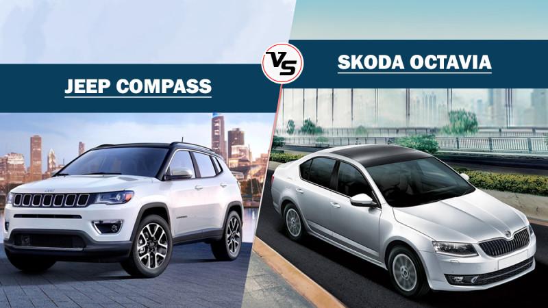 Spec Comparo: Jeep Compass vs Skoda Octavia