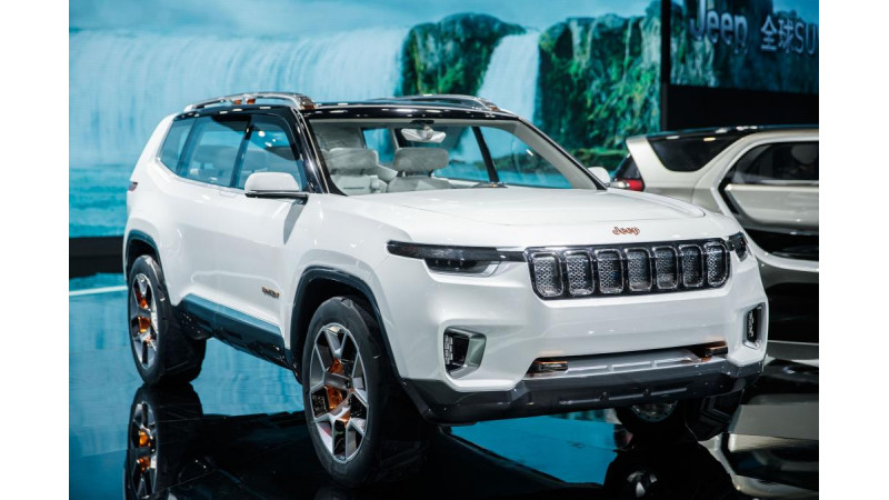 Jeep Yuntu hybrid concept showcased in Shanghai